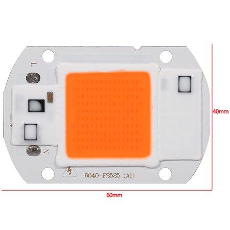 110V/50W Full Spectrum LED COB Chip Grow Light Plant Growing Lamp Bulb - image 4 of 7
