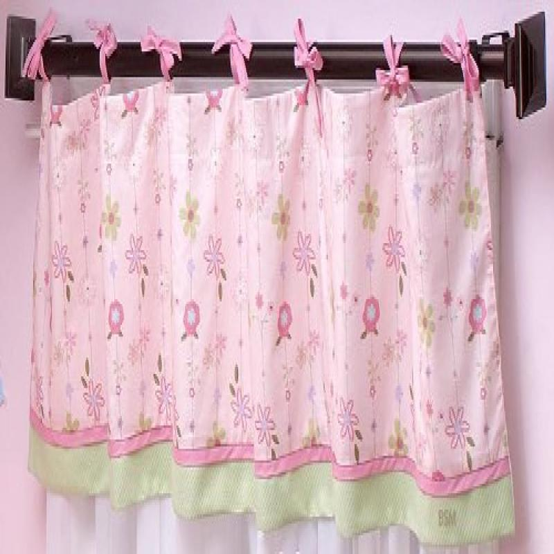 "NoJo ""Spring Meadow"" Window Valance by Crown Crafts Nojo"