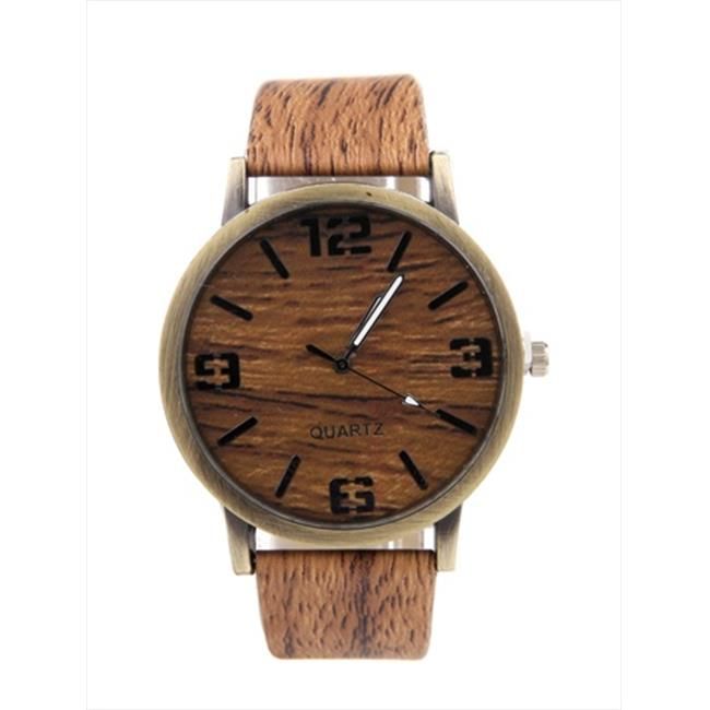 Mad Style 6258a Cedar Timber Watch