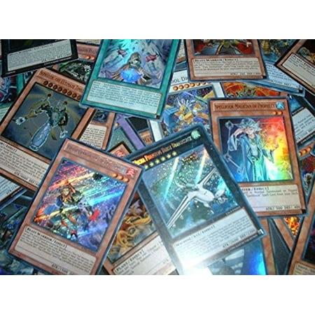 (10 Assorted YuGiOh Promo Foil Cards, All Cards are Rare, Super, Secret Rare or Ultra Rare)