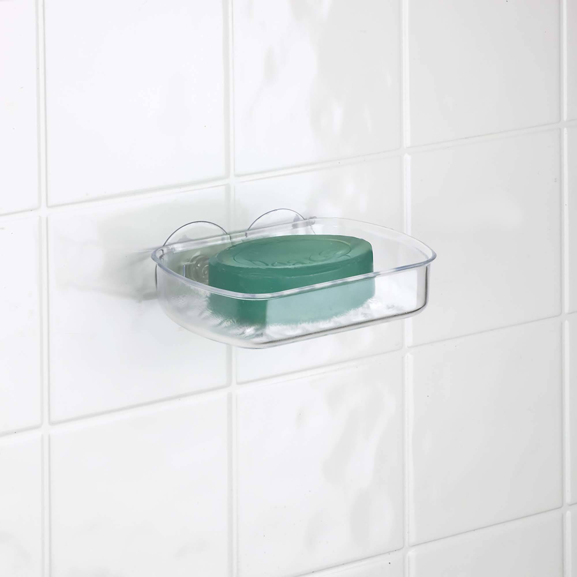Ordinaire Bath Bliss Clear Suction Soap Dish   Walmart.com