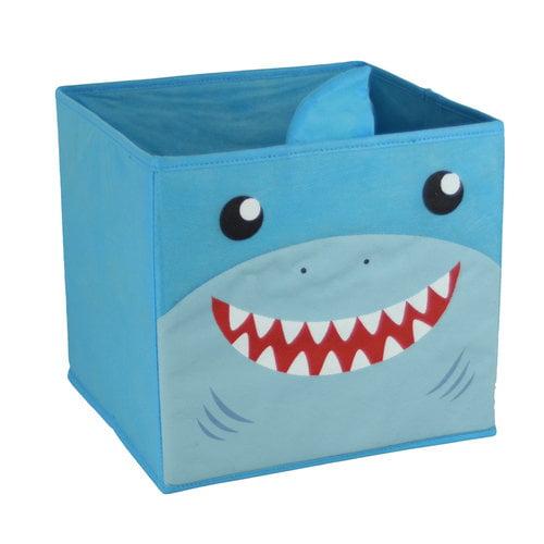Mainstays Collapsible Bin, Shark