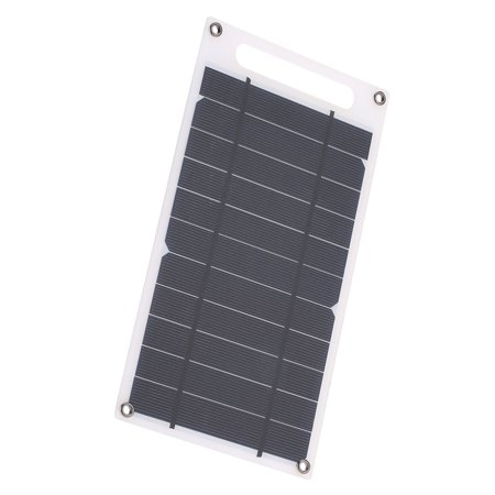 7.8W Portable Ultra Thin Monocrystalline Silicon Solar Panel USB Port for Cell Phone Outdoor Camping Climbing Hiking - image 4 of 7