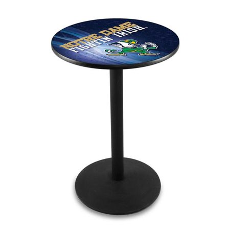 Holland Bar Stool L214B3636ND-Lep-D2 36 in. Notre Dame Irish Leprechaun Pub Table with 36 in. Top - image 1 of 1