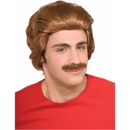 Nacho Libre Wig & Moustache Adult Costume Accessory
