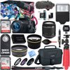 Canon EOS Rebel T6i Digital SLR Camera Video Creator Kit 18-55mm Zoom Lens, Rode Video Mic, 32GB + 32GB SDXC Memory Bundle + Pro Wide Angle Lens + 2x Telephoto Lens Converter +Extra Battery+DSLR Bag E12CNDRT6IVCK EOS Rebel T6i EF-S 18-55mm IS STM KitRODE VideoMic GO MicrophoneSandisk 32GB SDHC CardCamera includes:EOS Rebel T6i BodyEF-S 18-55mm IS STM LensEyecup EfCamera Cover R-F-3Wide Strap EW-300DBattery Pack LP-E17Battery CoverBattery Charger LC-E17Interface Cable IFC-130UEOS DIGITAL Solution Disk / Software ManualCamera / Wi-Fi Instruction Manual, Basic Book (E)Camera / Wi-Fi Instruction Manual, Basic Book (S)Camera / W-LAN Instruction Manual, Full CD (JEFSC)Warranty Card for Camera (US/CAN)Macro Booklet (E)Flash Booklet (E)CUSA LeafletBarcode Leaflet (ES)Introduction Leaflet of Connect Station CS100Lens Includes:Lens Cap E-58IILens Dust Cap EWarranty Card for Lens (US/CAN)