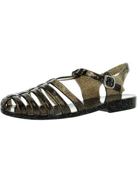 63ea4e7af000 Product Image Forever Womens Jedi Summer T-Strap Retro Jelly Rain Flat  Sandals