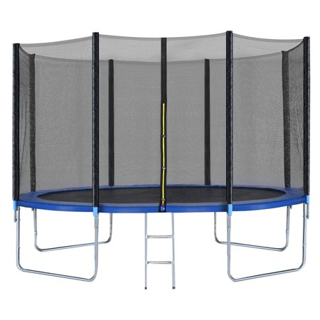 12FT Trampoline Combo Bounce Jump Safety Enclosure Net W/Spring Pad Ladder - image 5 of 10