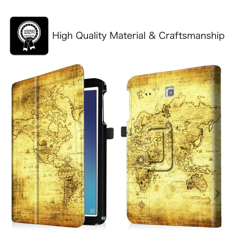 Samsung Galaxy Tab E 9.6 / Tab E Nook 9.6 Inch Tablet Folio Case ...