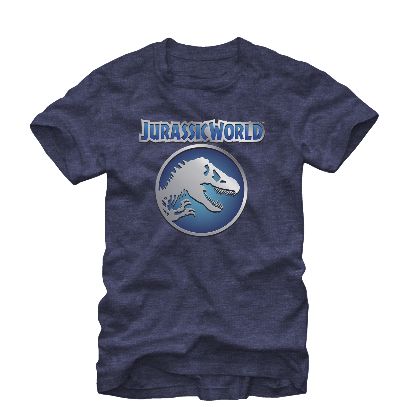 Jurassic World Circle Logo Mens Graphic T Shirt