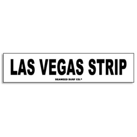 Paradise Surf Sign - Seaweed Surf Co AA70 4X18 Aluminum Sign Las Vegas Strip