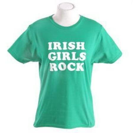 - Notre Dame Fighting Irish T-shirt By Champion - Irish Girls Rock - Kelly Green