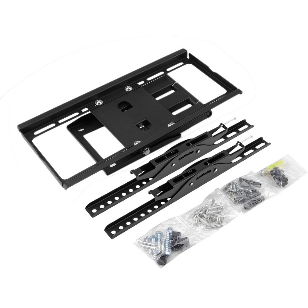 LESHP - 26-55 LCD LED 3D Plasma Full Motion Swing Arm TV Wall Mount Bracket Tilt Swivel^