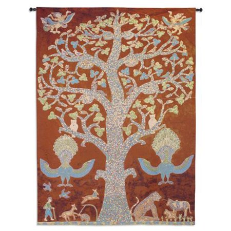 Temple Tree Of Life Wall Tapestry