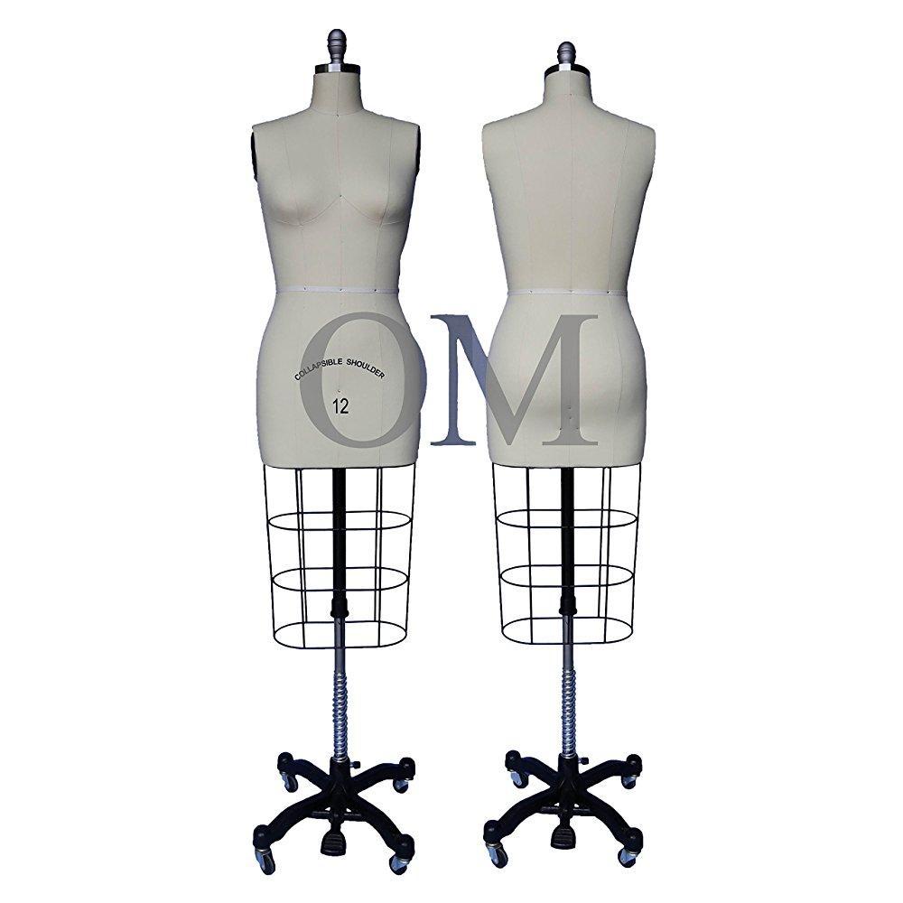 new female professional fashion dressmaker mannequin dres...