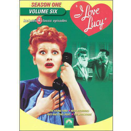 I Love Lucy: Season One, Vol. 6