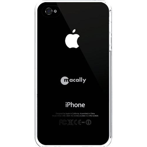 MacAlly Snap-On Case iPhone 4, Clear