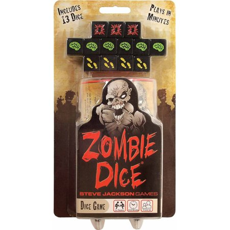 Zombie Dice Game - Zombie Party Games