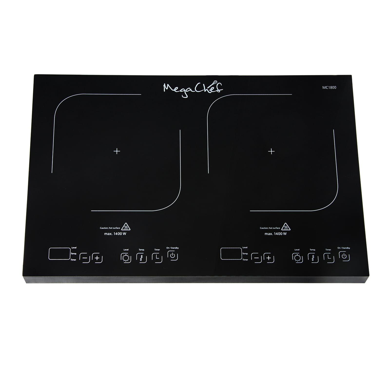 MegaChef Portable Dual Induction Cooktop