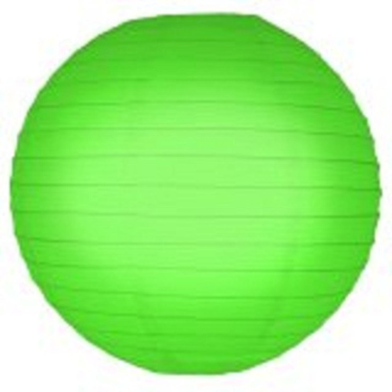 Pack of 5 Kiwi Green Garden Patio Round Chinese Paper Lanterns 10""