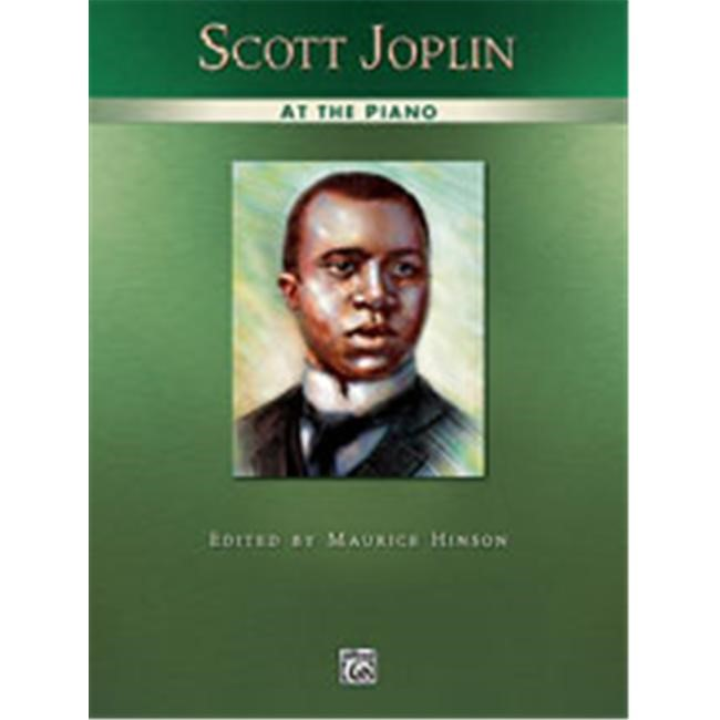 Alfred 00-445 Scott Joplin at the Piano Music Book by Alfred