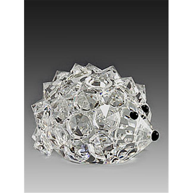 Asfour Crystal 646-27 1. 53 L x 1. 1 H inch Crystal Hedgehog Animals Figurines