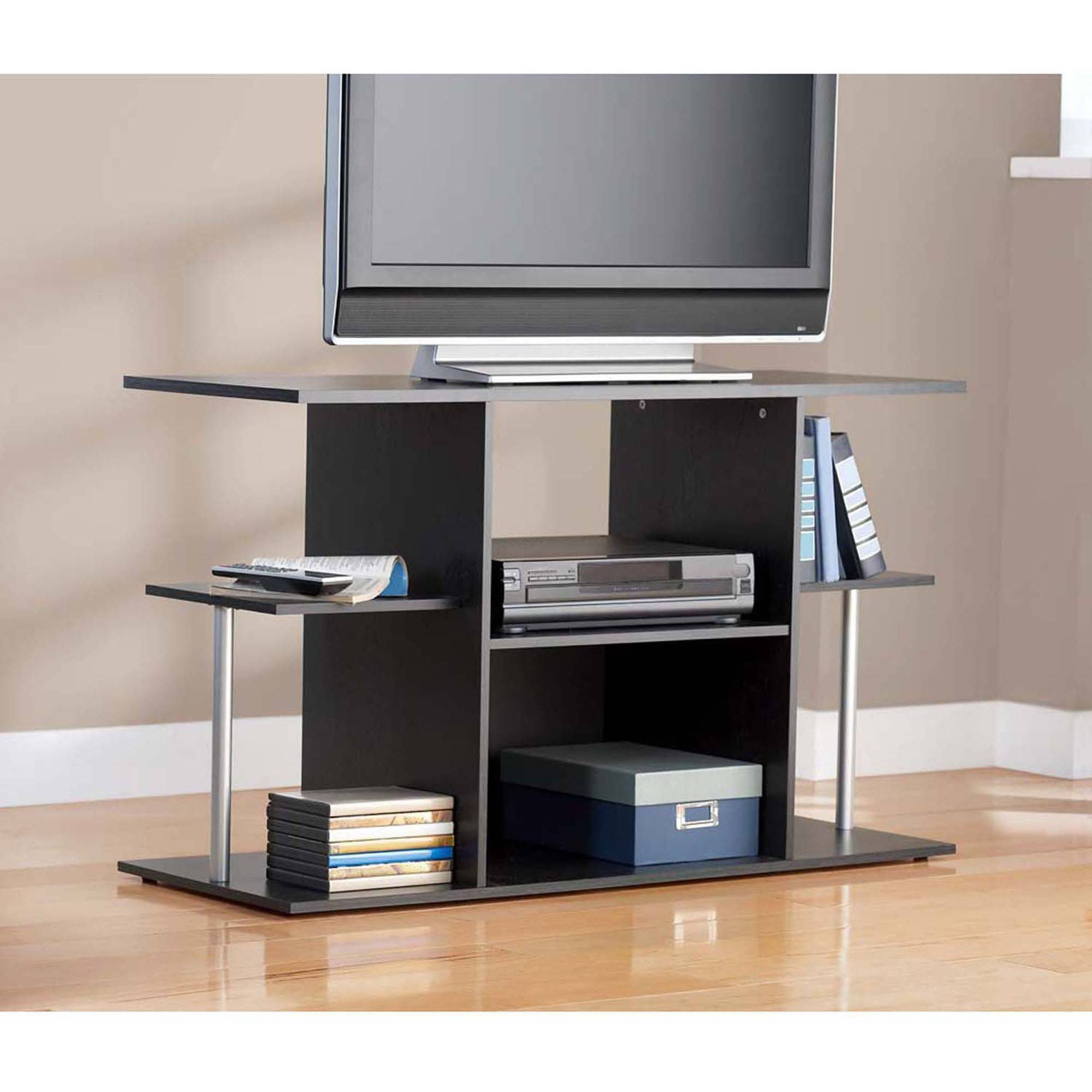 "Mainstays TV Stand for TVs up to 42"", Black"