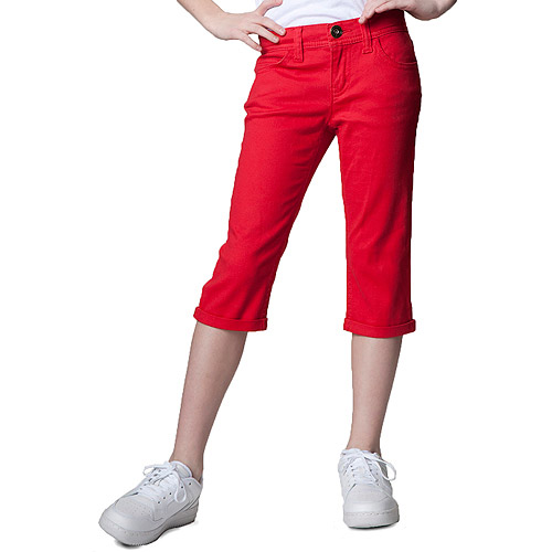 Jordache - Girls Roll Cuff Color Skinny