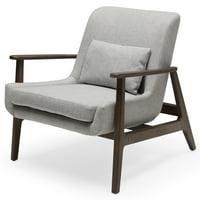 MoDRN Mid-Century Layne Lounge Chair, Multiple Colors