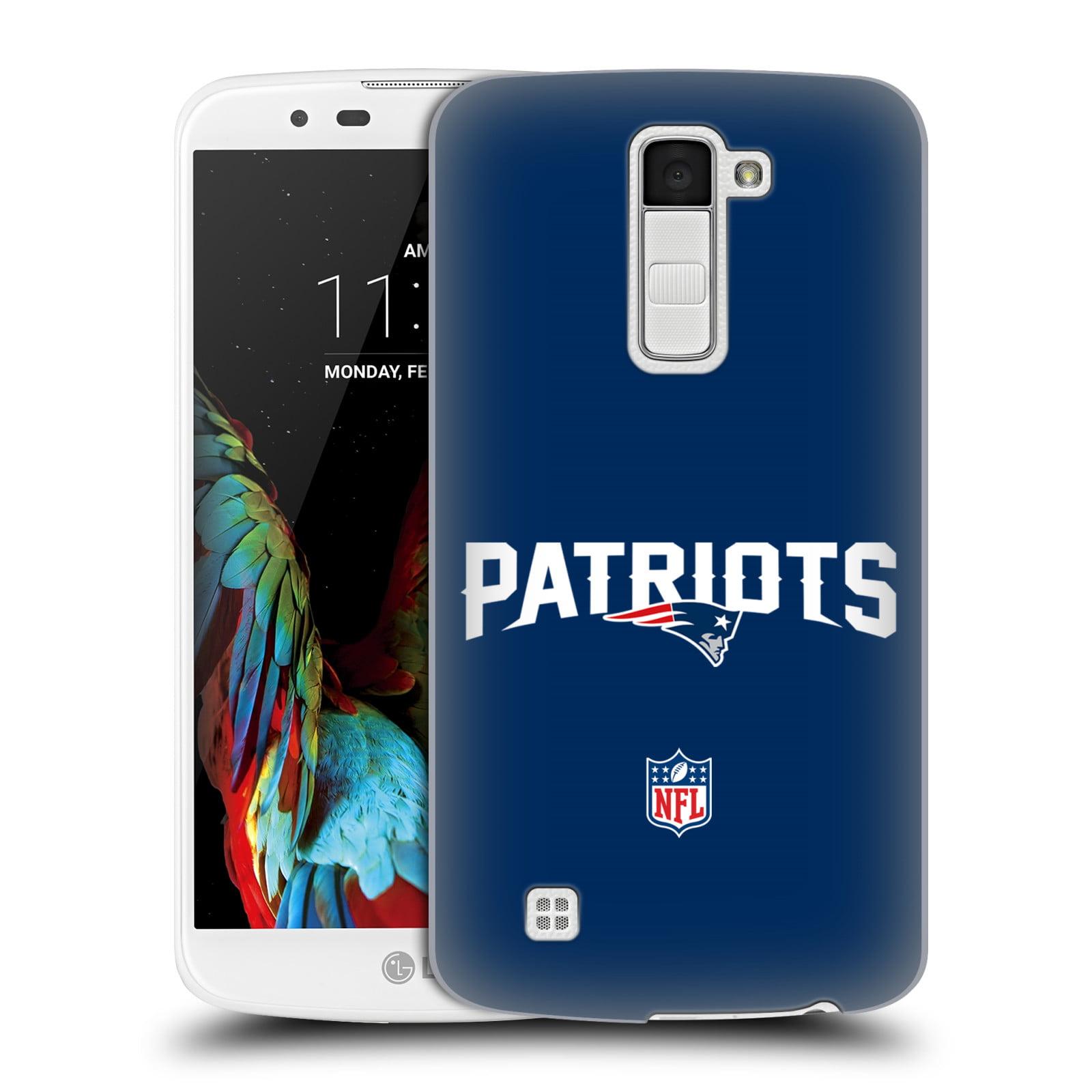 OFFICIAL NFL NEW ENGLAND PATRIOTS LOGO HARD BACK CASE FOR LG PHONES 3