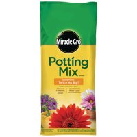 Miracle-Gro Potting Mix, 2 cu. ft., Feeds Plants up to 6 Months
