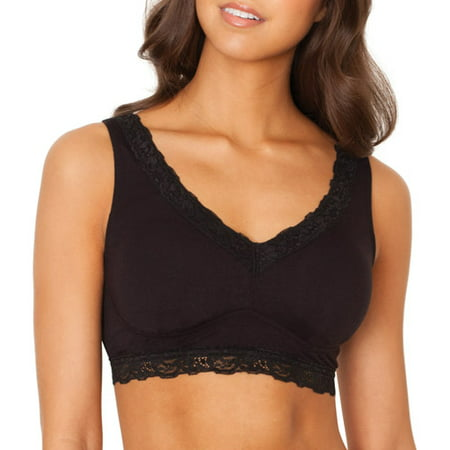 fruit of the loom women 39 s lace trimmed super soft sleep bra style ft517. Black Bedroom Furniture Sets. Home Design Ideas