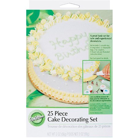 Wilton Cake Decorating Kit Coupon : Wilton 25-piece Cake Decorating Set with Illustrated ...