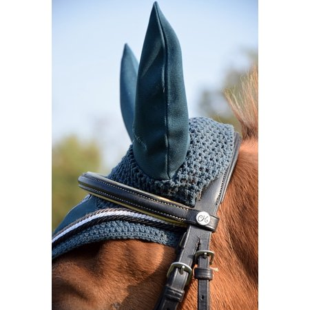 (Peel-n-Stick Poster of Horse Head Bridle Ears Ride Horse Flying Hat Poster 24x16 Adhesive Sticker Poster Print)