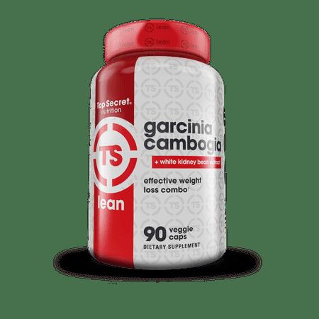 Top Secret Nutrition Garcinia Cambogia   White Kidney Bean Extract Weight Loss Veggie Caps  90 Ct