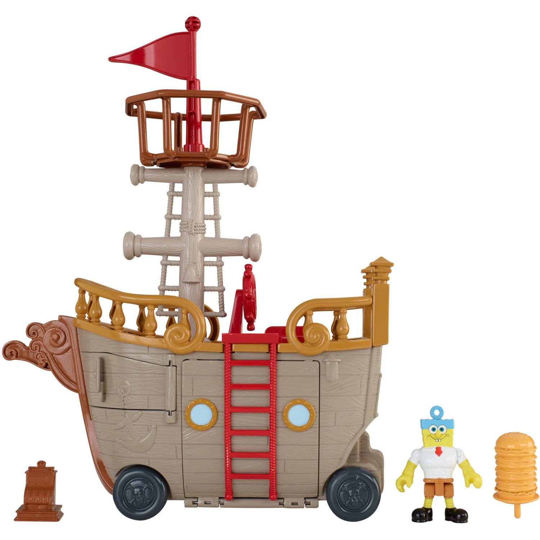 IMaginext SpongeBob SquarePants Krabby Patty Food Truck by FISHER PRICE