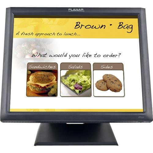 "Planar PT1745R 17"" LCD Touchscreen Monitor - 5 ms - 5-wire Resistive - 1280 x 1024 - SXGA - Adjustable Display Angle - 1"