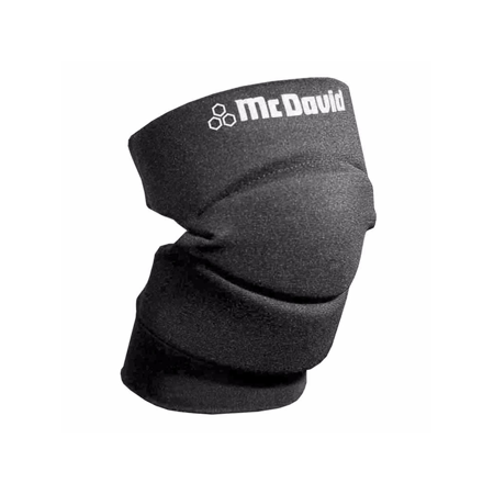Mcdavid Foam Elbow Pads - McDavid Classic Logo 643 CL Knee / Elbow Pads W/ Open Back Pair Black Small