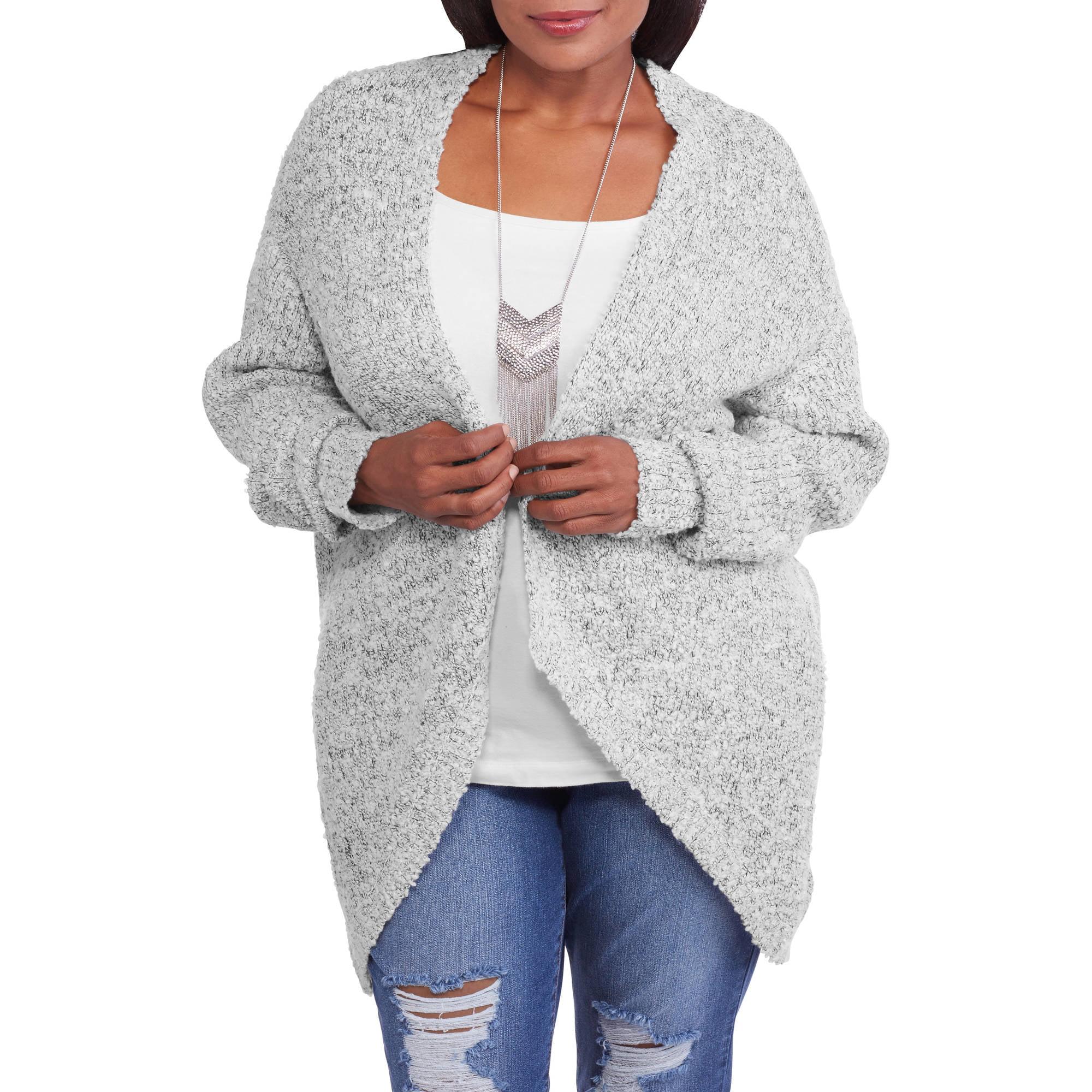 Faded Glory Women's Plus Wrap Sweater