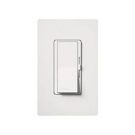 Lutron DVTV-WH Diva 30mA Single Pole 0-10V Fluorescent Dimmer, White