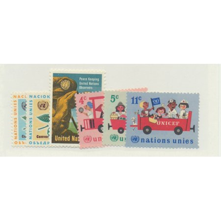 United Nations (New York) Scott #158 To 163 From 1966 - Collectible Postage Stamps