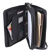 Padfolio 3-Ring Binders, Folder File Divider Organizer Planner w/ Smart Handle, Briefcase Luggage Portfolio (FREE RETURN)