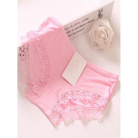 0f806013b1c Women Girls Lace Underpants Underwear Knickers Cotton Panties Briefs  G-string - Walmart.com