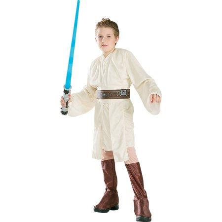 Morris Costumes Boys Obi Wan Kenobi Child Tunic Jacket Costume Small, Style RU82018SM