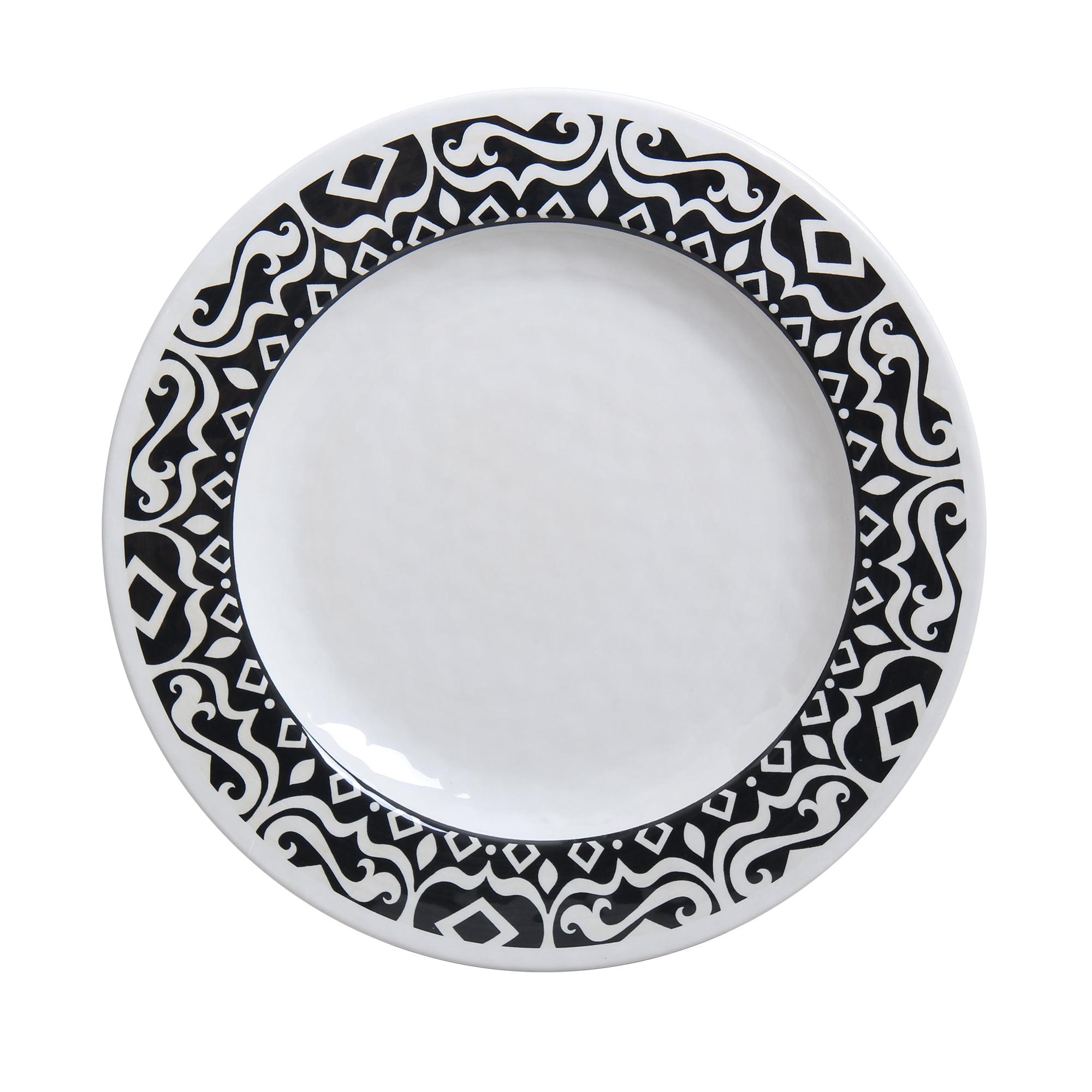 Better Homes & Gardens Tuscan Melamine Dinner Plate, 4-Pack