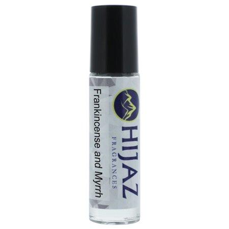 Uncut Alcohol Free Body Oil Frankincense Myrrh Fragrance 1/3 oz Roll on Bottle