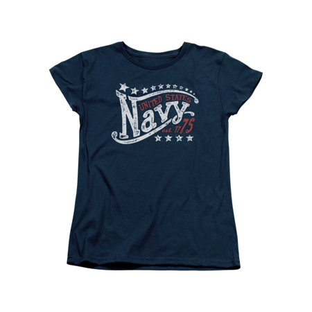 US Navy Stars Womens Short Sleeve - Navy Woman Costume