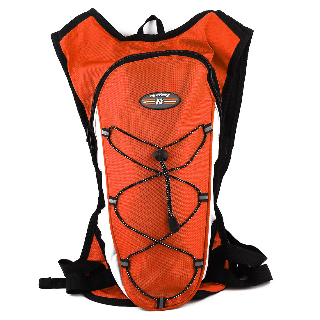 Outdoor Hiking Camping Cycling Water Bladder Bag Hydration Backpack Pack Orange by Unique-Bargains