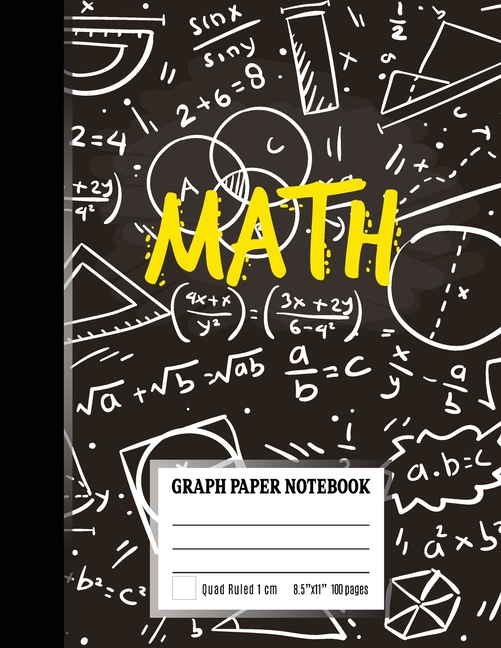 graph paper notebook   coordinate paper  squared graphing