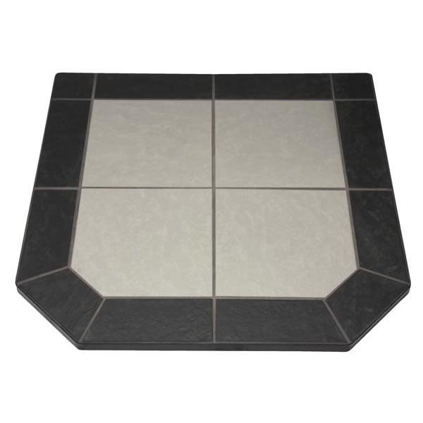 "Night Shadows Tile Double Cut Stove Board, 48"" x 48"""